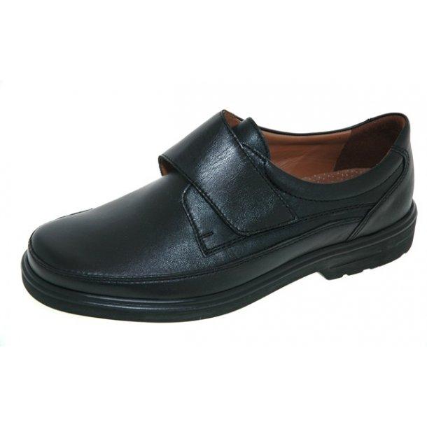 Herrer, sko - SIOUX Parcifal - sort