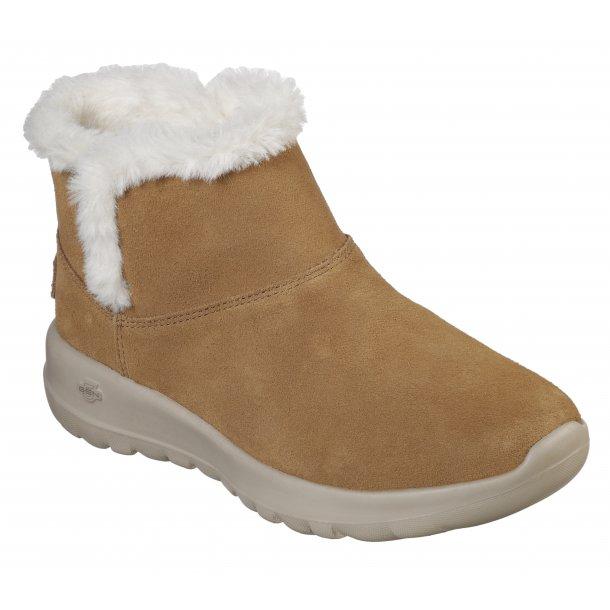 Skechers damestøvle 15501 - kamel