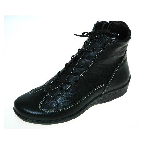 Damer, støvler - ARCOPEDICO N51 - Sort