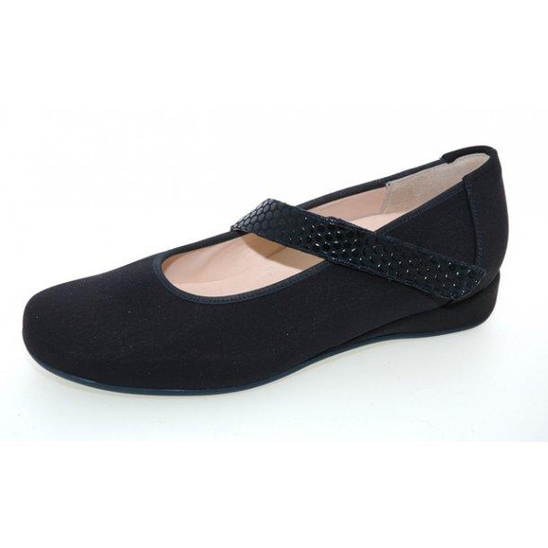 Damer, sko - HASSIA - Petra  - Mørkeblå