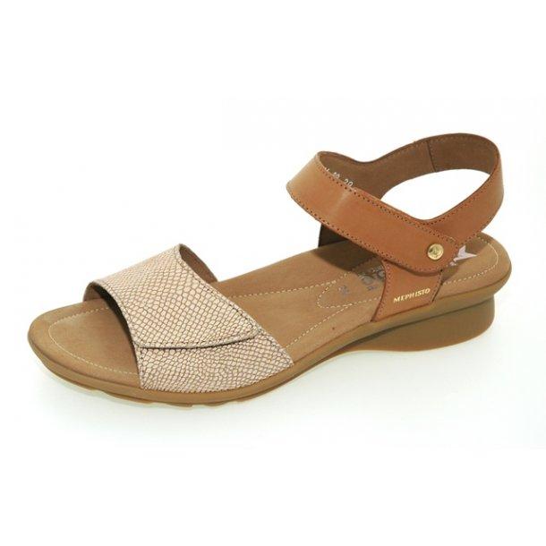 Damer, sandaler - MEPHISTO Pattie - lysebrun
