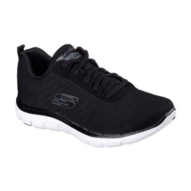 Damer, sko - Skechers - 12753 sort