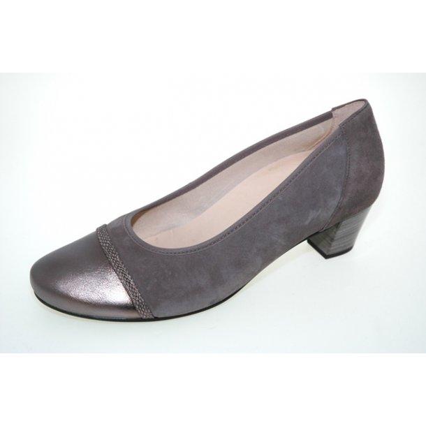 Damer, sko - Gabor - 66.181 - Grå/beige