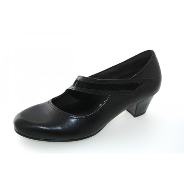 Damer, sko - Gabor - 66.147 - Sort
