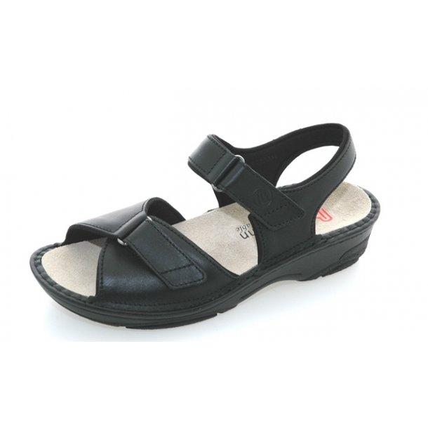 Damer, sandaler - BERKEMANN Fabienne - sort