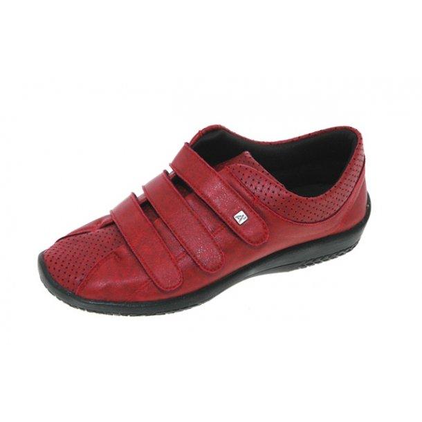 Damer, sko - ARCOPEDICO 4411 - rød