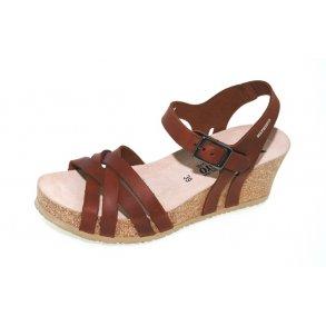 b1d46d5a4b9 Damer, sandaler - MEPHISTO Lanny - brun