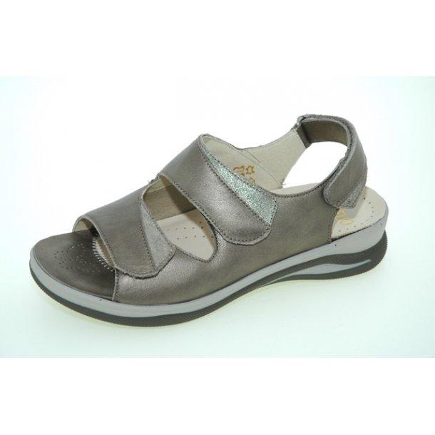 Damer, sandaler - FIDELIO  49602 - taupe