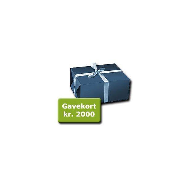 Gavekort á kr. 2000,-