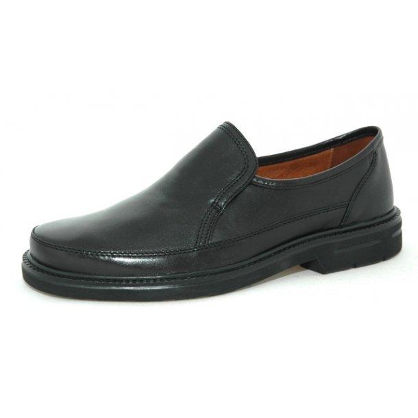 Herrer, sko - SIOUX Michael - Sort