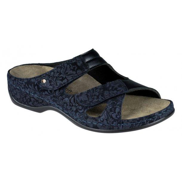 Berkemann Janna sandal 1027 velegnet til indlæg - blå