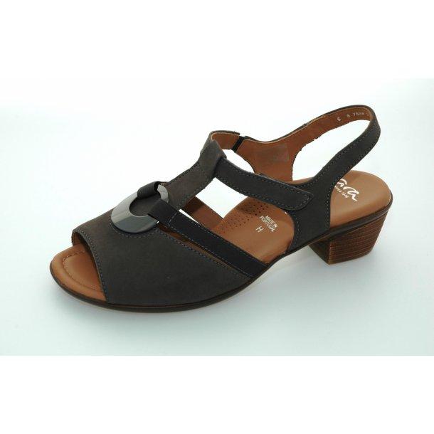 Ara sandal 35715 - gråbrun