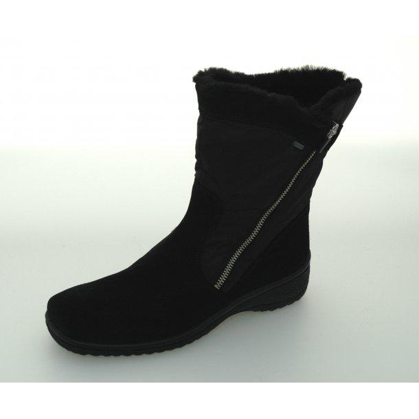 Ara dame vinterstøvle med tex 48562 - Sort