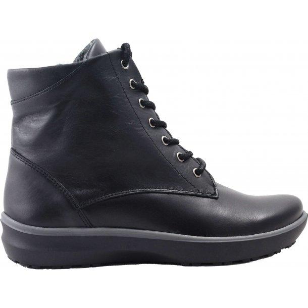 Arcopedico støvle med varmt fór Artic 6115 - Sort