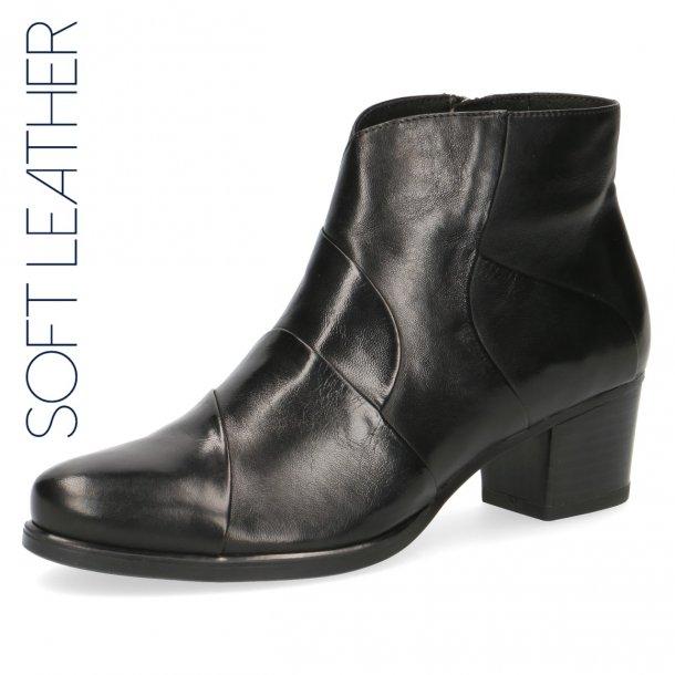Caprice damestøvle i blødt skind 25373 - Sort