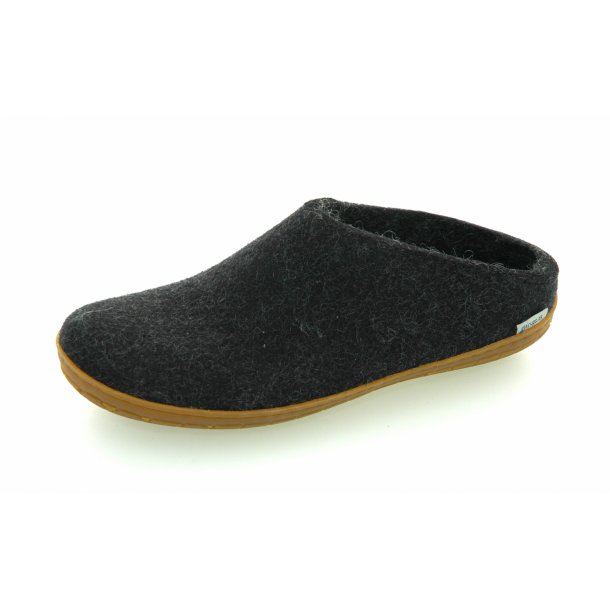 Glerups  - Slippers - charcoal rubber