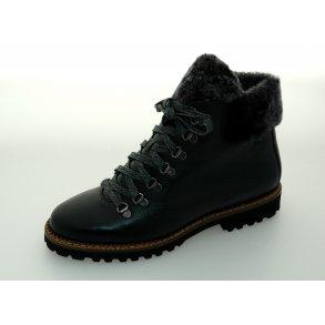 7ff62af6085 Sioux damestøvle med lammefór Verica 59041 - Sort