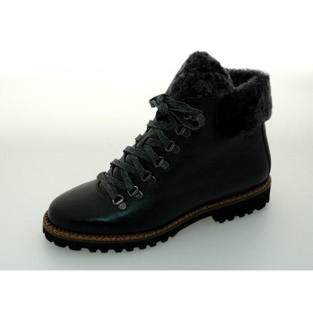 Sioux damestøvle med lammefór Verica 59041 - Sort