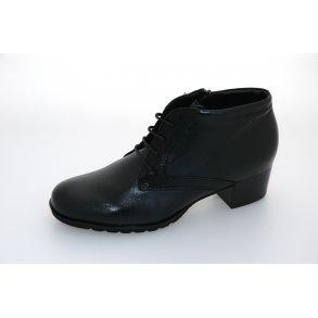 7f839a5c9d9a Sioux damestøvlet Zarida - Sort