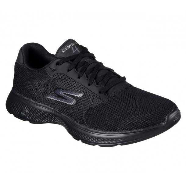 Skechers herresnøresko 54150 Mens Gowalk 4 - Sort