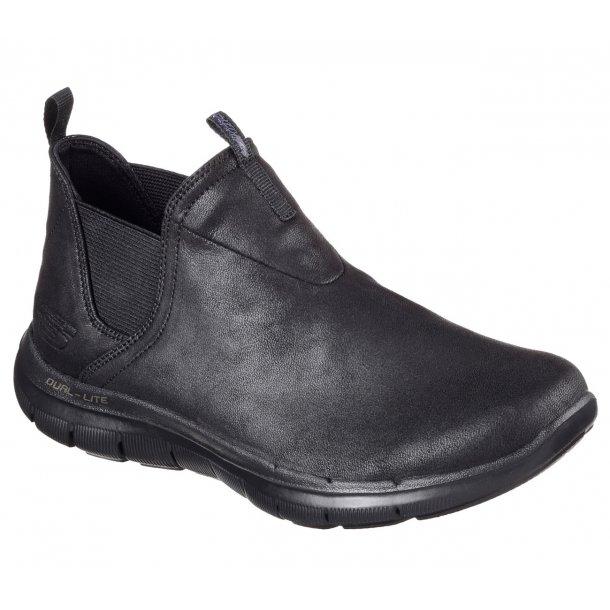 Skechers vandtæt støvlet til damer 88888212 - sort