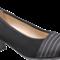 Hassia damepump med elastik 304903 - Sort ruskind